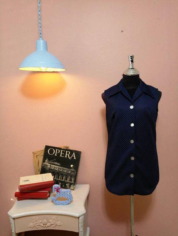 Check out this item in my Etsy shop https://www.etsy.com/il-en/listing/510141795/vest-blousewomen-dots-blousewomens
