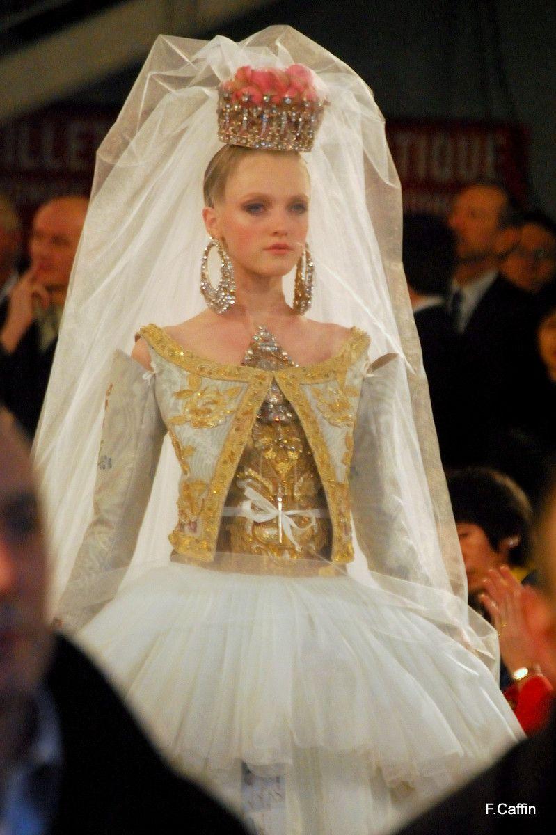Wedding Dresses Lacroix Luxe Fashion Elegance Haute Couture Bride