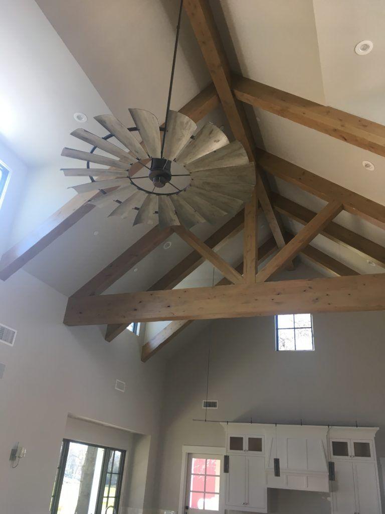 Client Photos in 2020 Farmhouse ceiling fan, Vaulted