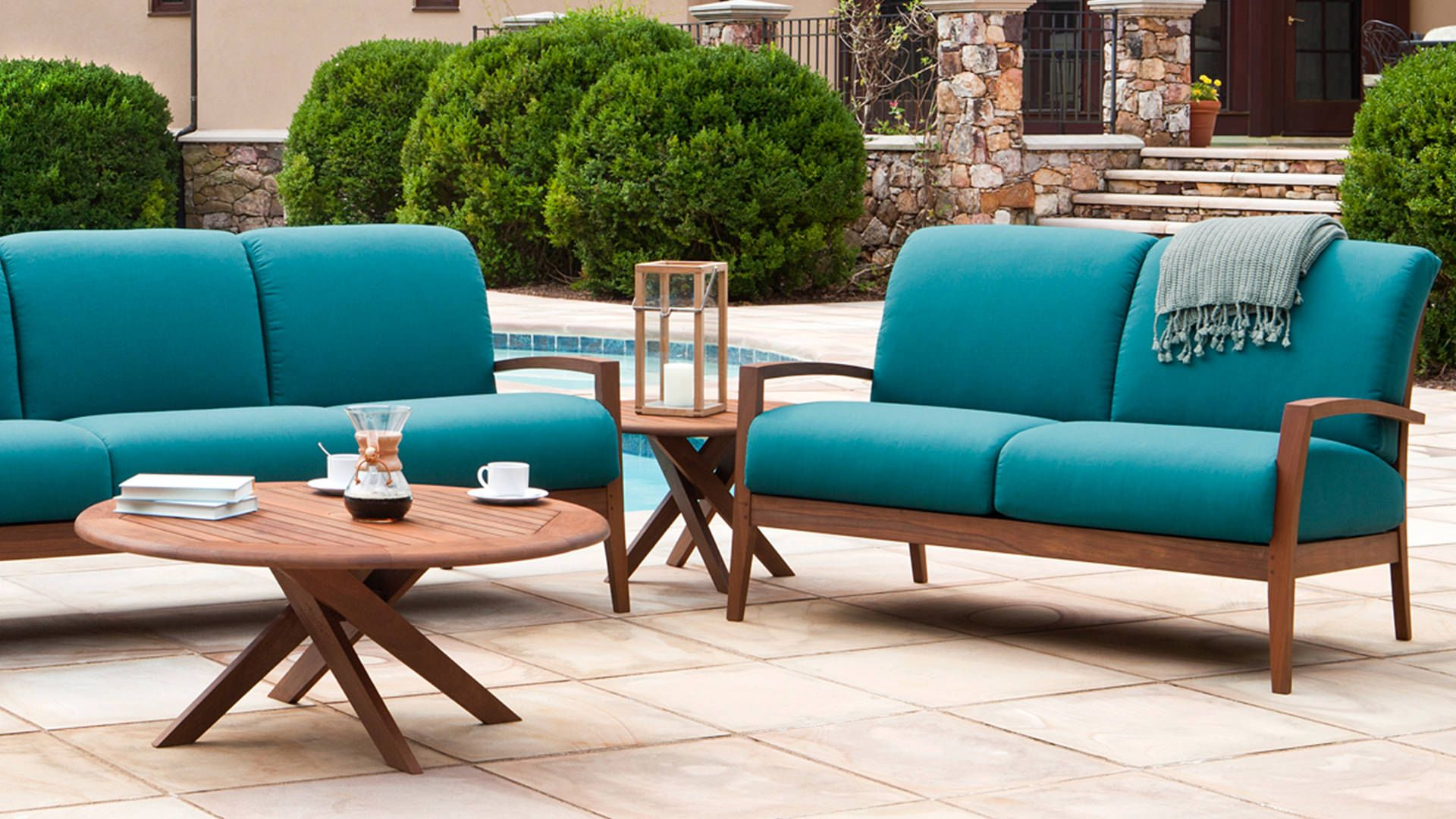 Topaz Loveseat Outdoor Furniture Custom Outdoor