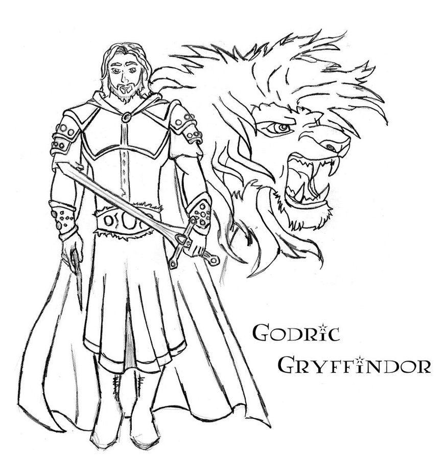 Godric Gryffindor by Juan026 on DeviantArt Harry potter