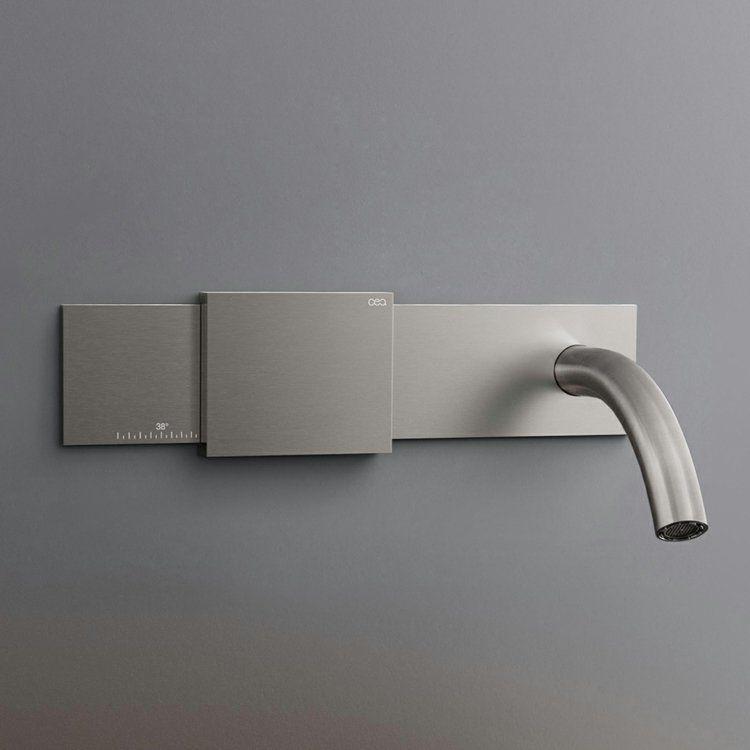 Mitigeur Lavabo électronique Et Numériquela Robinetterie Hightech - Salle de bain high tech