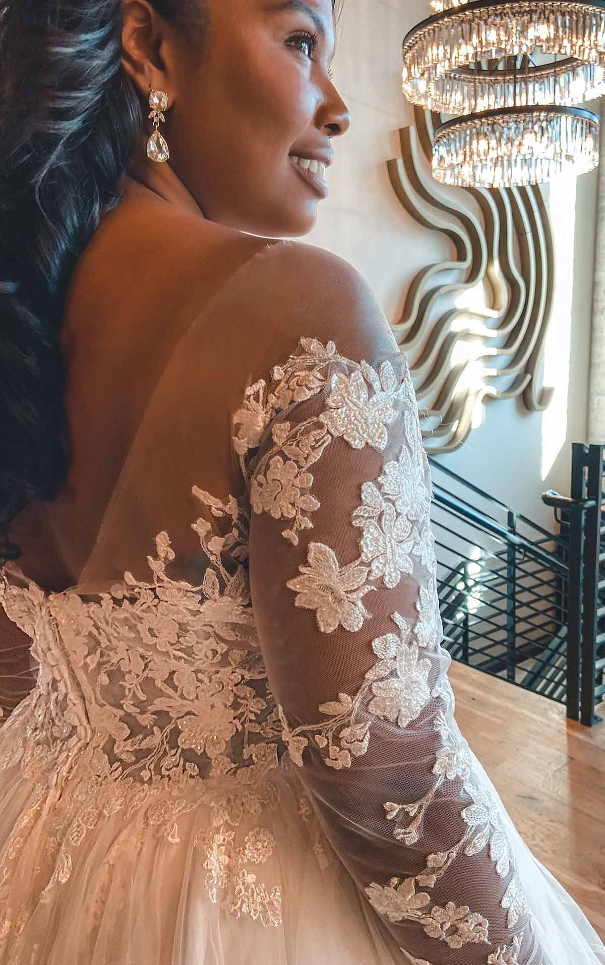 Off Shoulder Lace Plus Size Ballgown With Tiered Skirt Essense Of Australia Wedding Dresses In 2021 Essense Of Australia Wedding Dresses Ball Gowns Wedding Dresses [ 1914 x 1200 Pixel ]