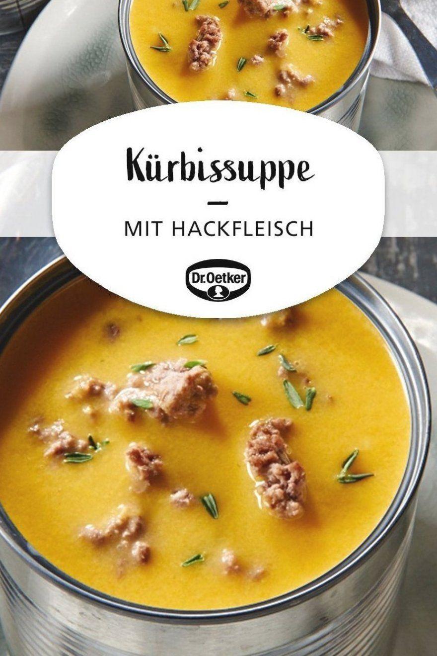 K  rbissuppe mit Hack  K  rbissuppe mit Hackfleischeinlage #pumpkin #abendessen #suppekochen