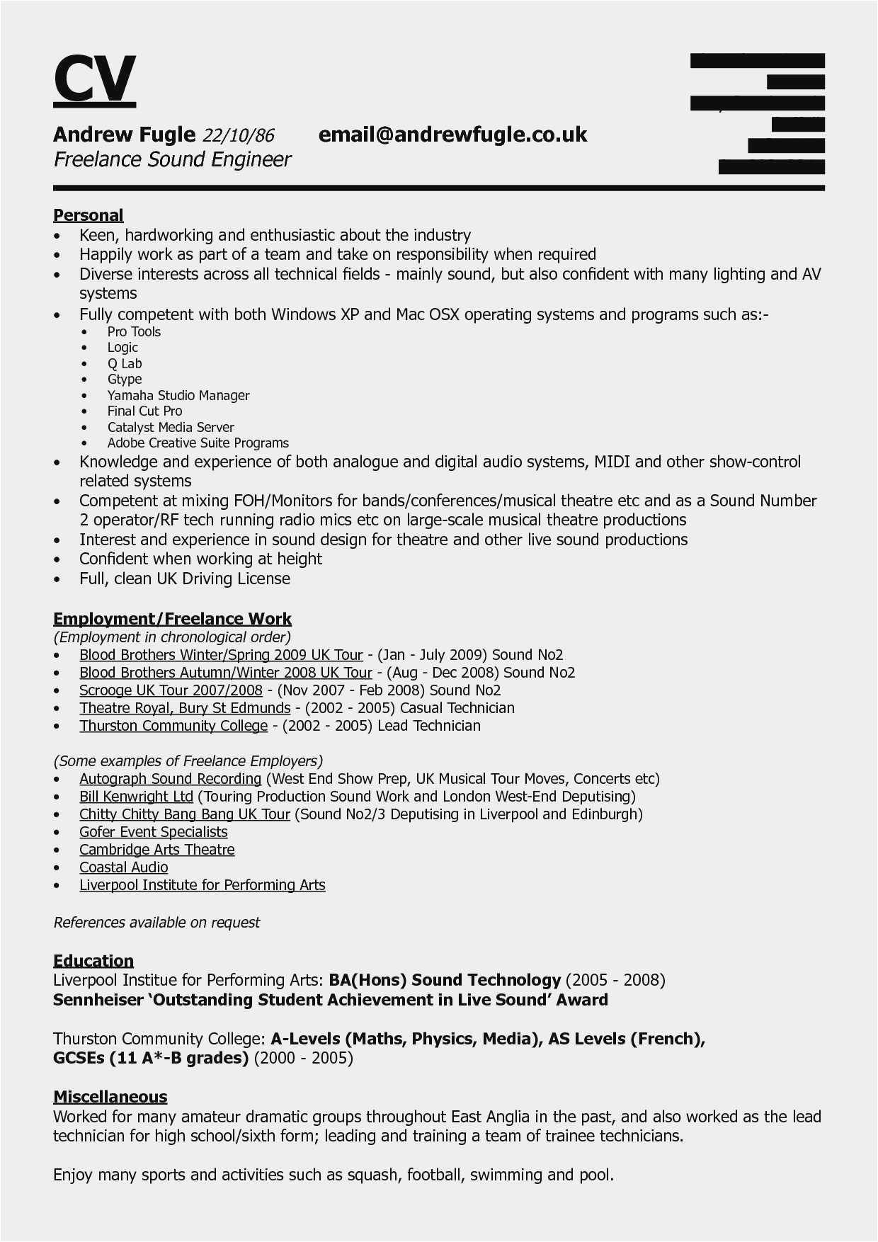 Social Media Resume Example Awesome Free 20 Business Manager Contract Template New Social Media Resume References Engineering Resume Marketing Resume
