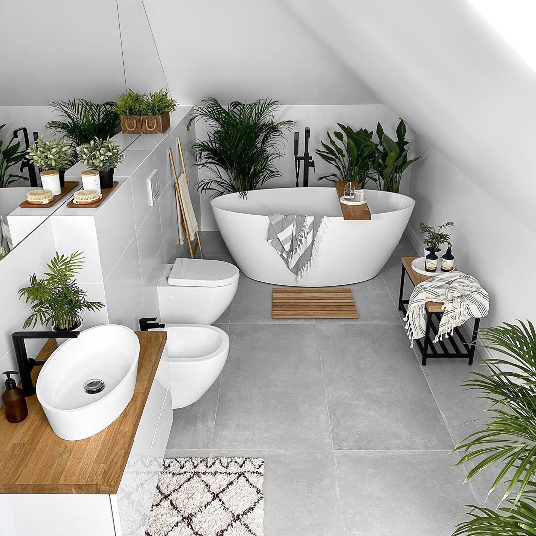 Photo of 25 Beautiful Modern Bathroom Decorating Ideas
