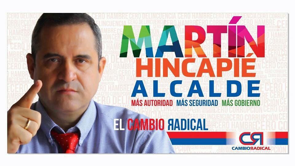 José Martín Hincapié Álvarez-Candidato a la Alcaldía de Tuluá