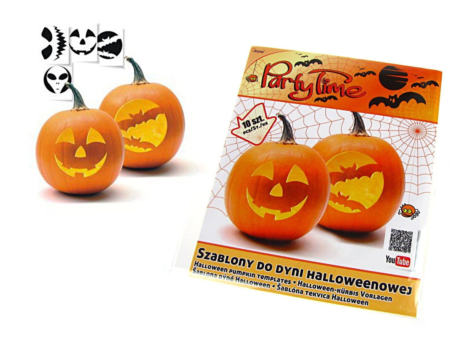 Szablony Do Dyni Halloween Pumpkins Pumpkin Carving Halloween
