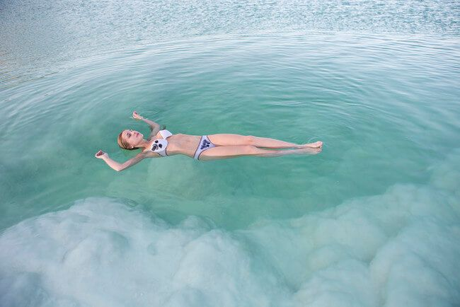 The Dead Sea, natural wonders