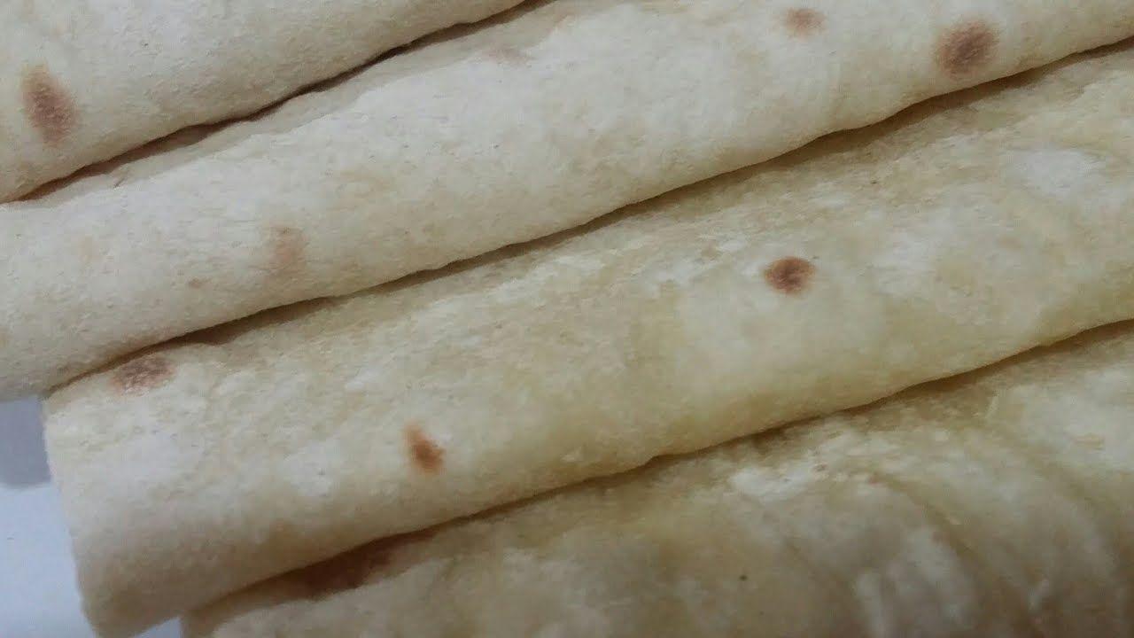 طريقة العيش السوري خبز الصاج أكلنا بالمصري Food Bread