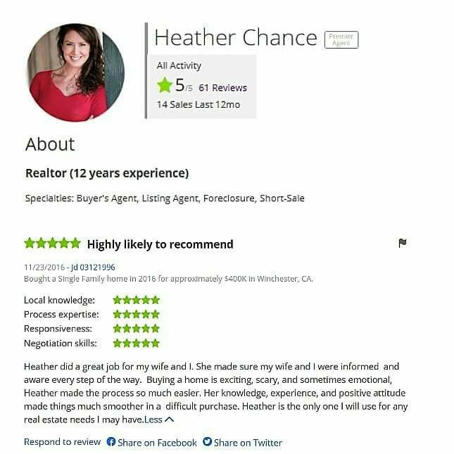Another 5 Star Zillow Review From A Satisfied Client Temecula Real Estate Temecula Realtor Riverside Realtor Home Negotiation Skills Temecula Listing Agent