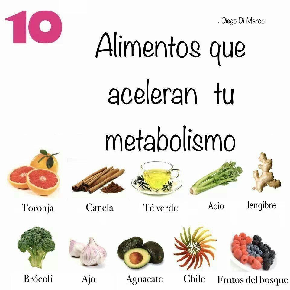 Que acelera el metabolismo para adelgazar