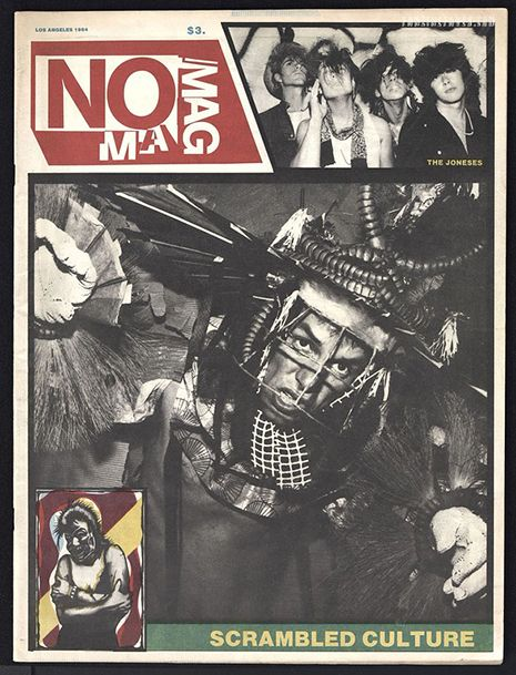 The entire print run of transgressive LA punk art and music zine NO MAG is now online   Dangerous Minds