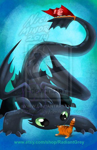 Toothless by Radiant-Grey.deviantart.com on @deviantART
