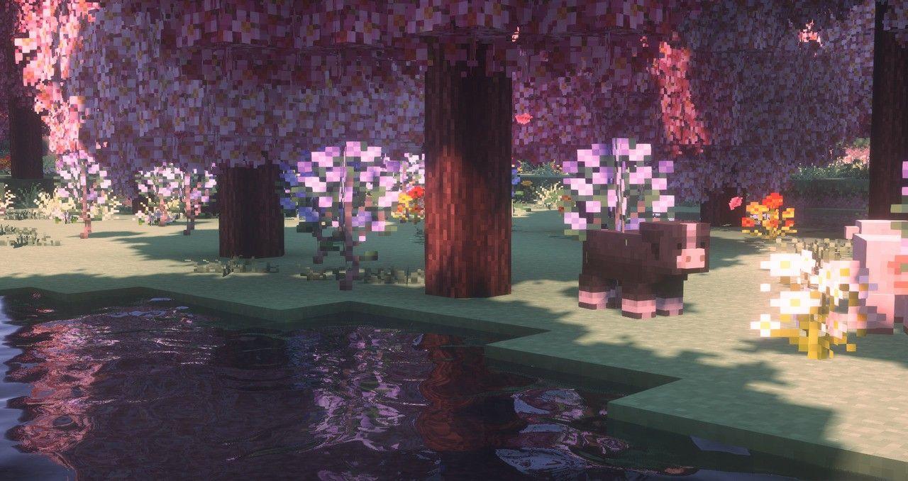 Minecraft Cool Desktop Wallpapers Aesthetic Desktop Wallpaper Minecraft Wallpaper