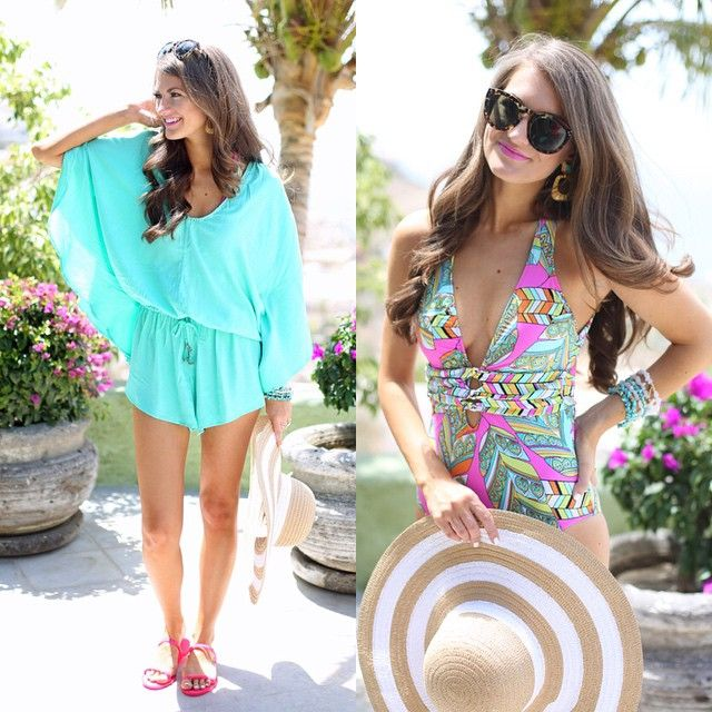 Today on www.southerncurlsandpearls.com... All the deets on this one piece swimsuit, plus I'm explaining everything you need to know about spray tans!  @liketoknow.it www.liketk.it/1kyzM #liketkit #whatiwore #cabo #ootd