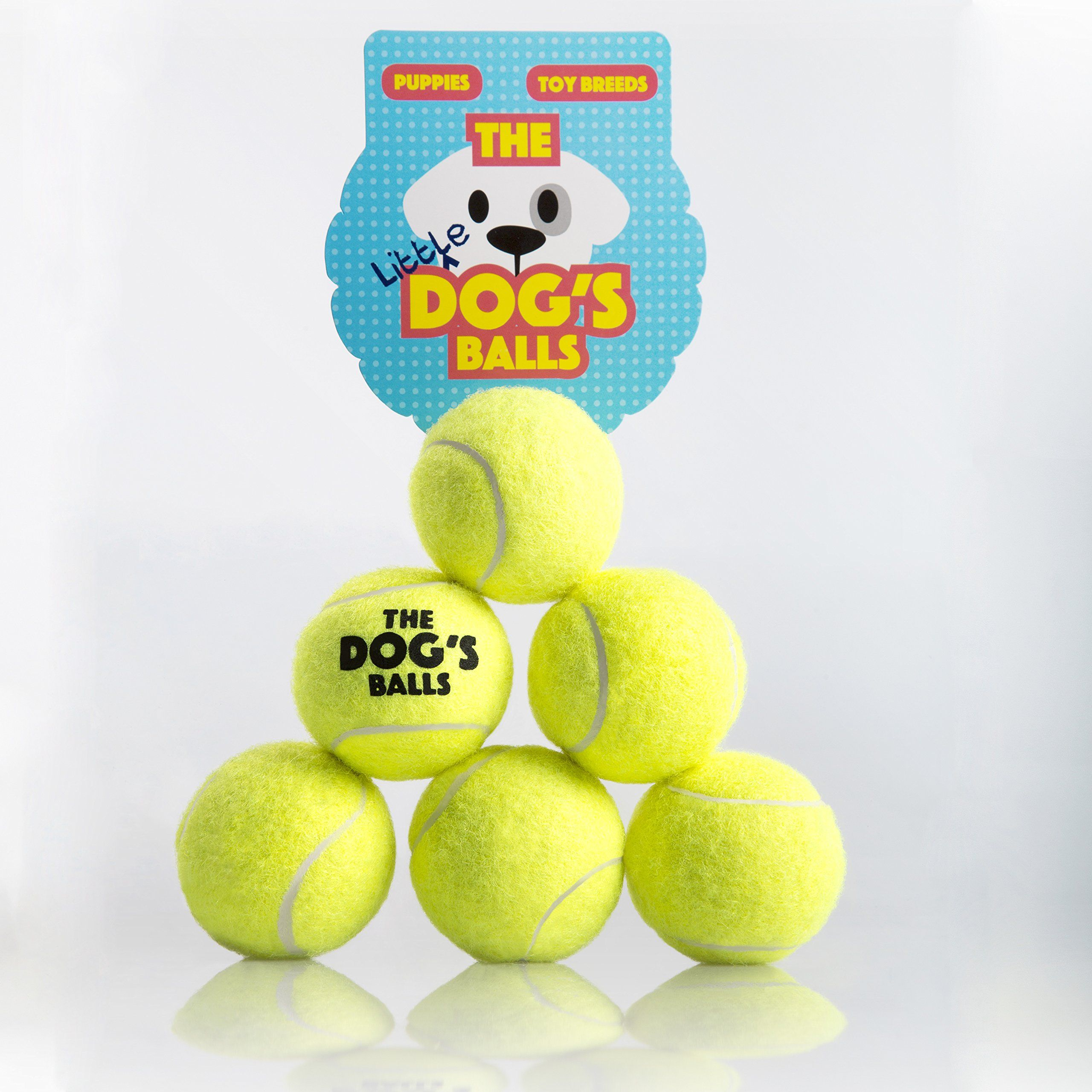 The Little Dogs Balls 6 Small Yellow Tennis Balls For Dogs Premium Mini Dog Toy For Puppies And Small Dogs Puppy Exercise Play T Dog Ball Toy Puppies Dog Toys