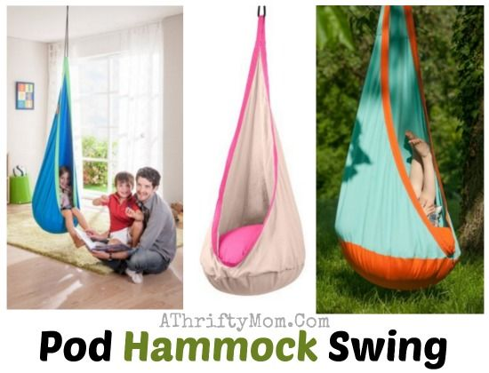 Kids Bedroom Hammock pod hammock swing, the perfect gift for kids give them a book and