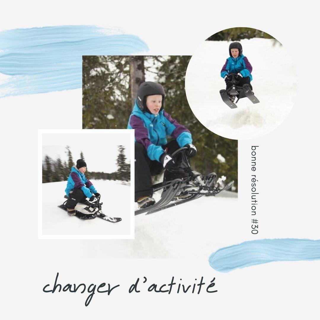 Stiga Luge Bob Snowracer Classic En 2020 Luge Sport Sante Sport