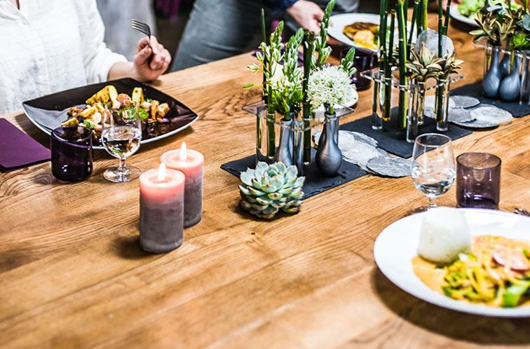 Frische ideen f r deine tischdeko tischdeko servierten Tischdeko gastronomie