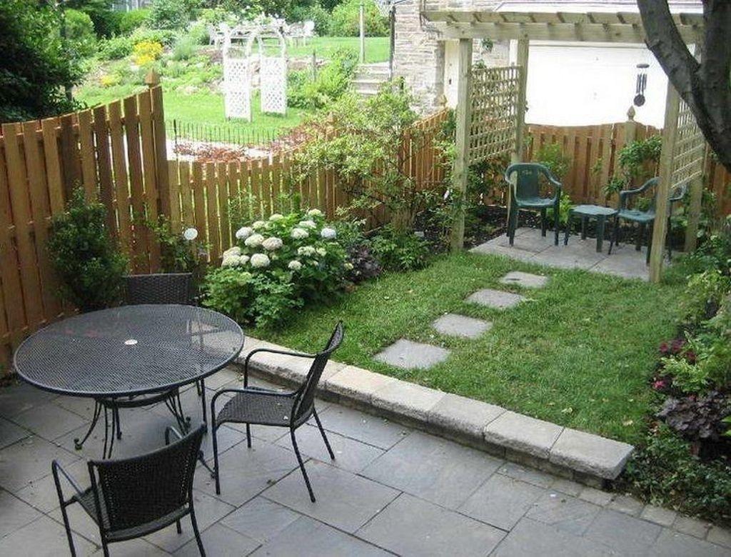 30 Attractive Small Patio Garden Design Ideas For Your Backyard
