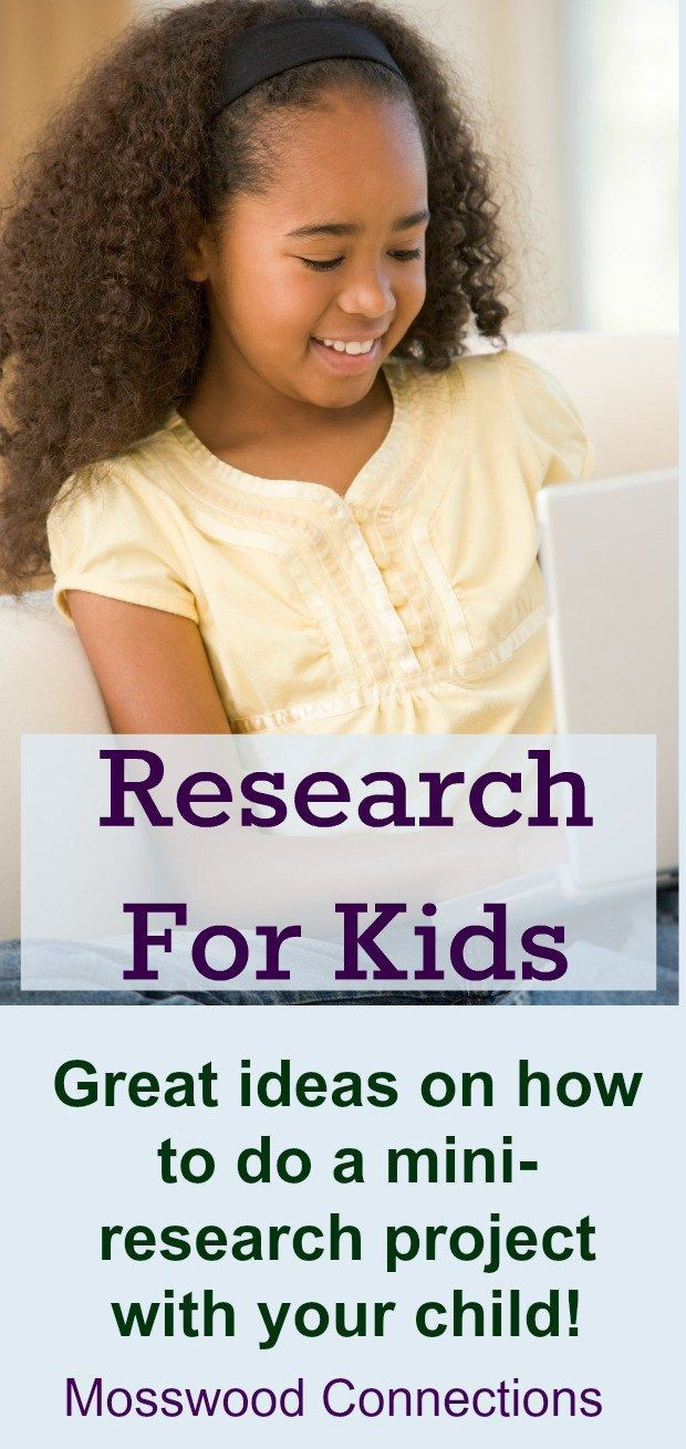 fun research project ideas