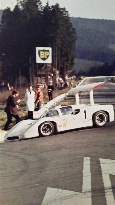chaparral 2f spa hill spence 1967 vintage racing. Black Bedroom Furniture Sets. Home Design Ideas