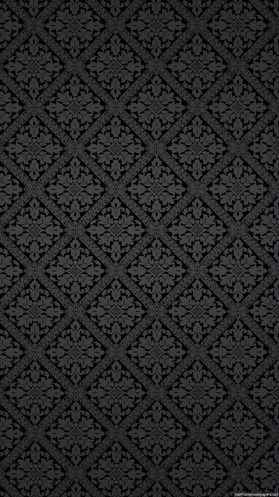 Simple Gray Pattern Background Image In 2020 Black Phone Wallpaper Black Wallpaper Iphone Iphone 6 Plus Wallpaper