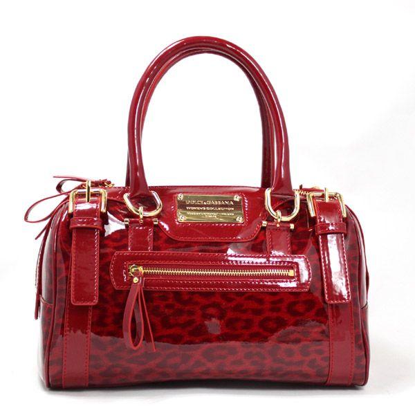 red+purse | Home > Handbags > Dolce Gabbana Bags > REPLICA D&G LEOPARD GRAIN ...