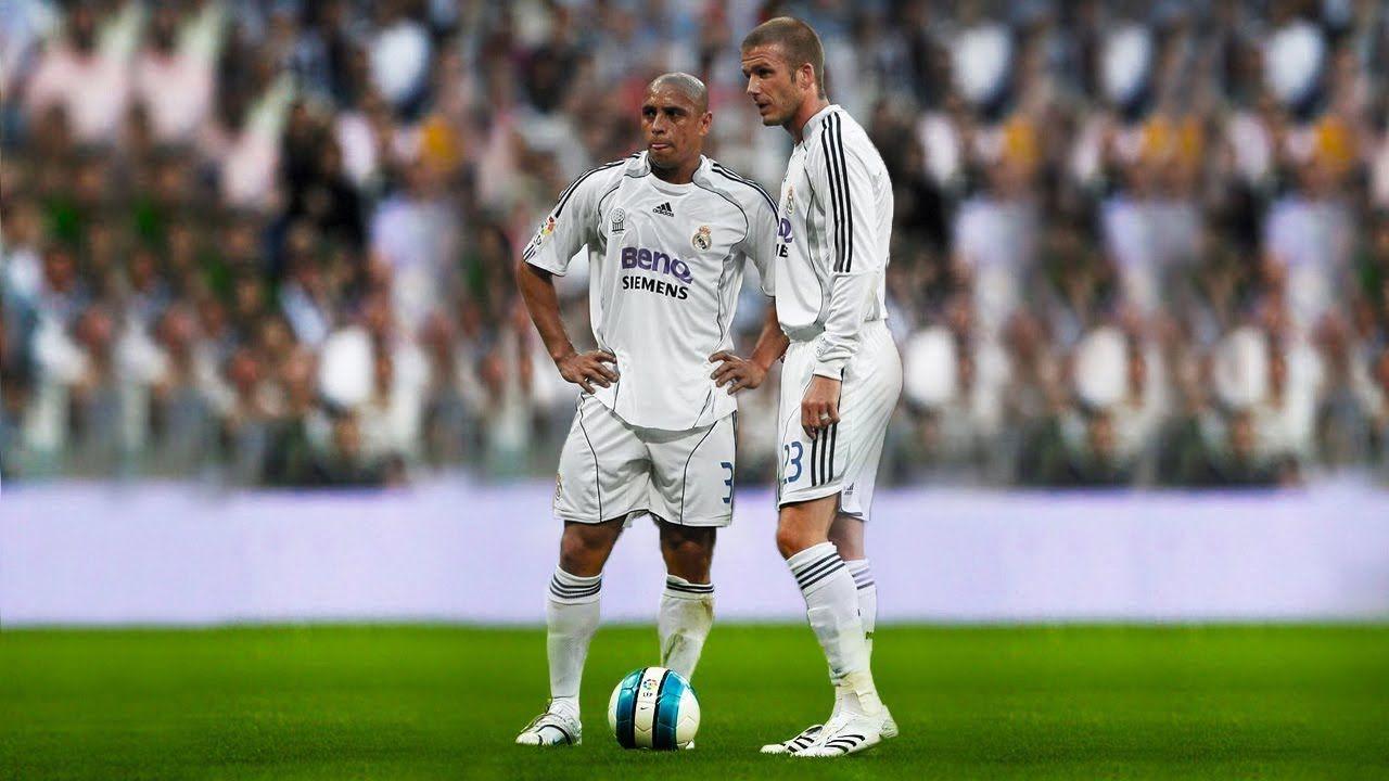 David Beckham Vs Roberto Carlos Top 10 Free Kicks Goals Football Sport Sportvideos Sporthighlights Shareon Roberto Carlos Free Kick Sports Highlights
