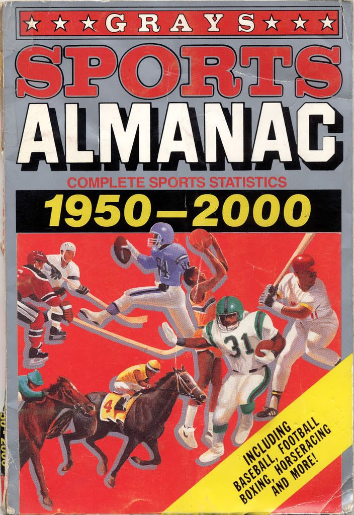Back to the Future II Gray's Sports Almanac in 2019 Back