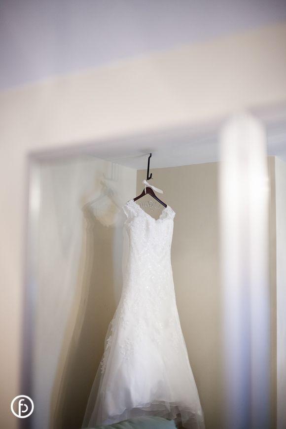 Hawthorne House Wedding   Freeland Photography   dress hanging