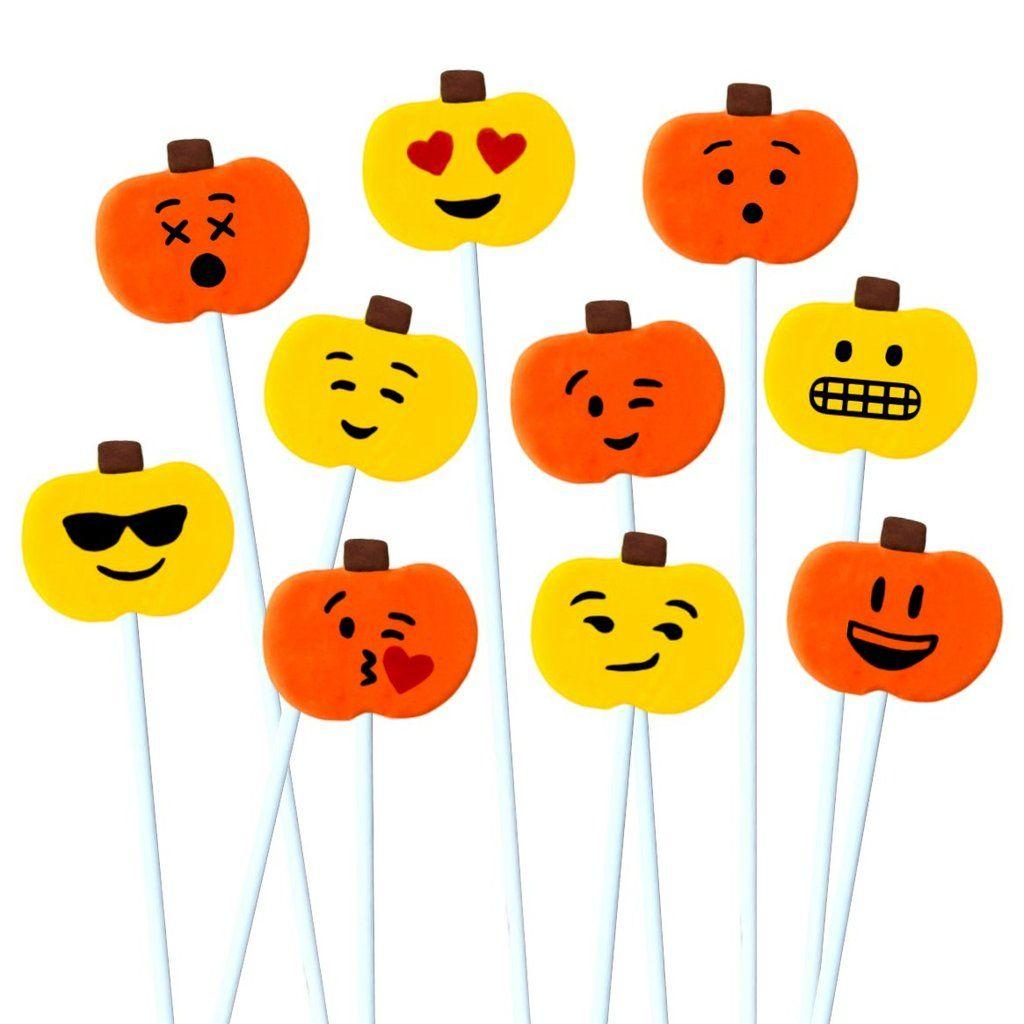 Thanksgiving Emoji Pumpkins In 2020 Marzipan Candy Custom Gift Cards Emoji