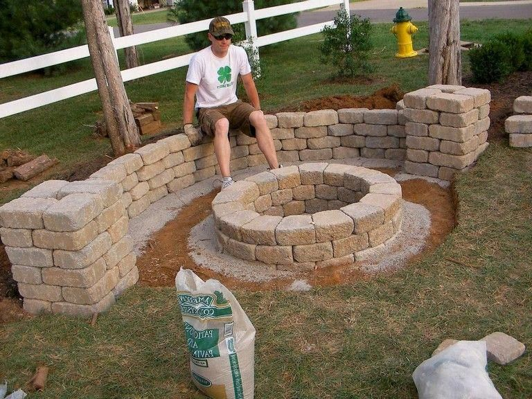 63 Simple Diy Fire Pit Ideas For Backyard Landscaping Outside