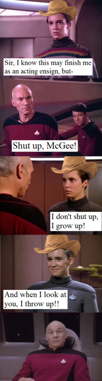 This stuff practically writes itself. Via The awesome adventures of Sparks McGee Tumblr.