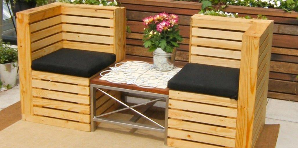 Muebles De Palets Para Jardin
