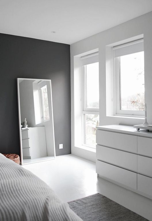 30+ Neutral Minimalist Bedrom Interior Designs With Grey Color