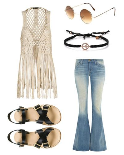Diy hippie costume it sad  would actually wear that not on halloween also rh ar pinterest