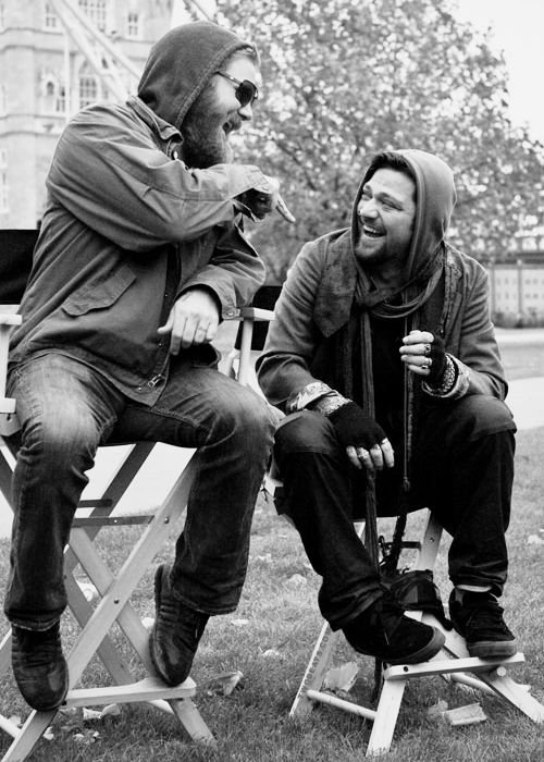 Ryan Dunn & Bam Margera. Best bromace I've ever seen. RIP Dunn you're still in our hearts <3