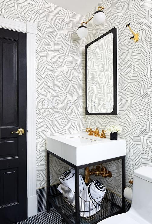 Download the Latest of Black Wallpaper Bathroom for LG 2020 from decorpad.com
