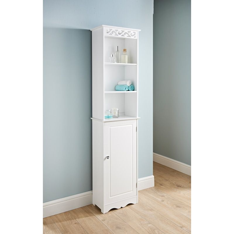 Camille Tall Boy This Fabulous Tall Boy Is A Great Way To Maintain A Clean And Tidy Bathroom And Its Stu Bathroom Storage Units Tidy Bathroom Cheap Bathrooms