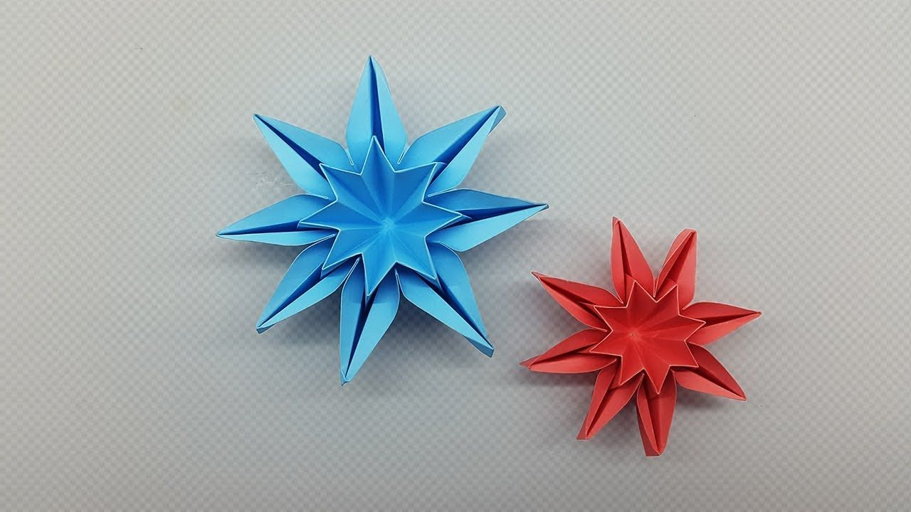 How To Make An Origami Star Box - Folding Instructions - Origami Guide | 720x1280