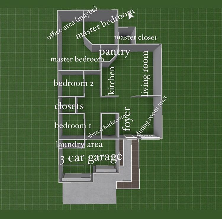 Bloxburg Layout House Layouts Sims House Design House Layout Plans House layout maker bloxburg