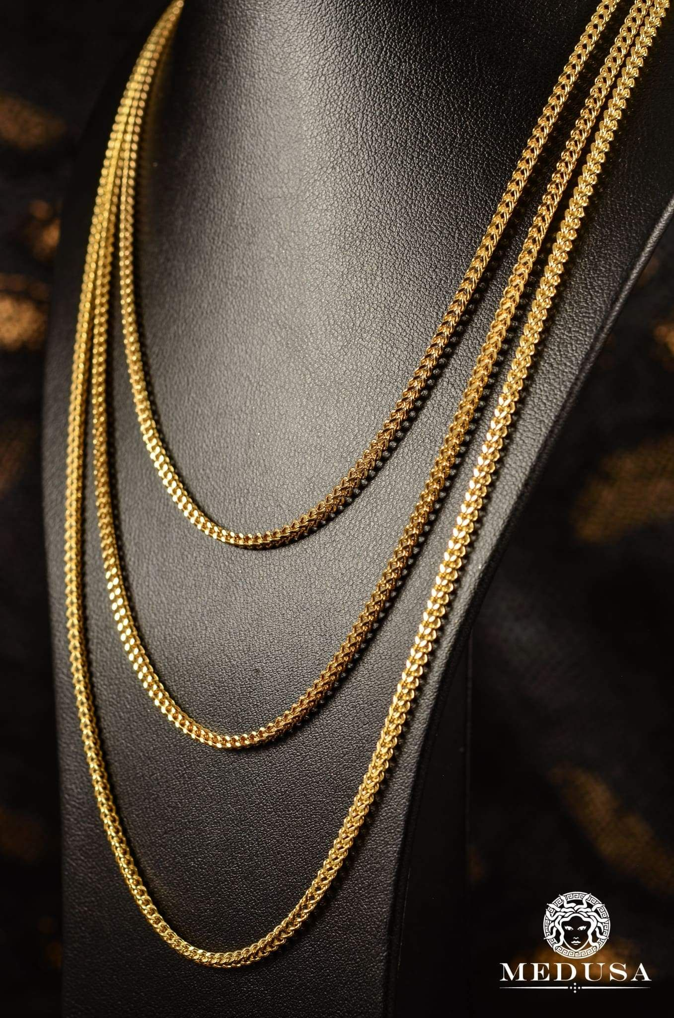 2 5mm Franco Gold Chains For Men Gold Chain Design Gold Earrings Designs