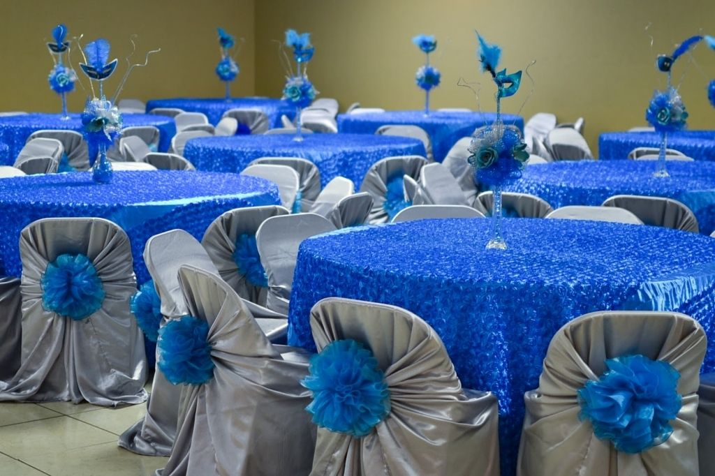 Royal Blue Quinceanera Decoration Quinceanera Centerpieces