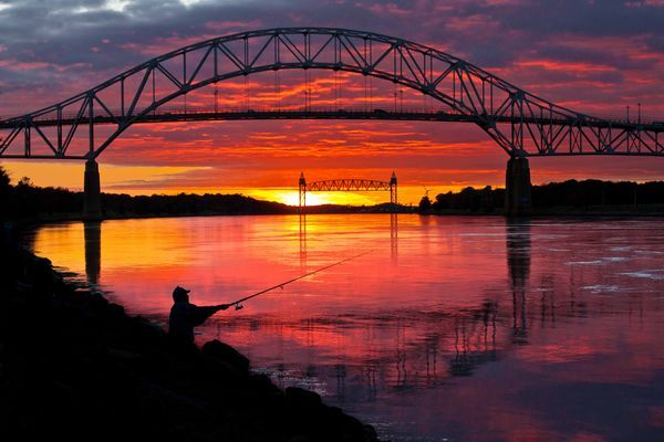 Cape Cod Canal Sunset The Cape Pinterest Cod, Cape and Sunset