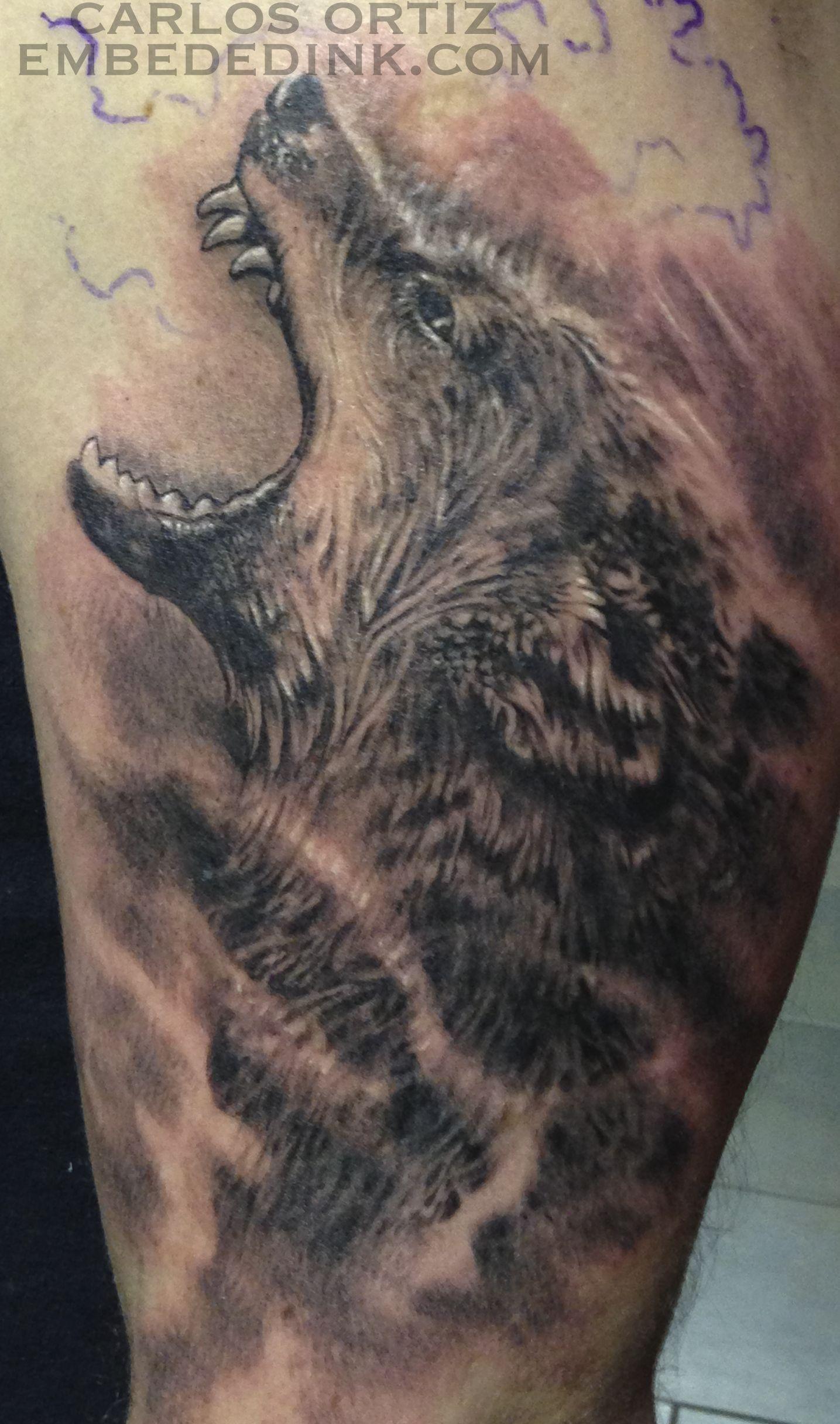 wolf half sleeve carlos ortiz embeded ink tattoos by carlos ortiz embededink. Black Bedroom Furniture Sets. Home Design Ideas