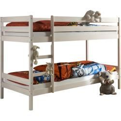 Photo of Children bunk beds –  Felix bunk bed, solid pine in white IdimexIdimex  – #amazo…