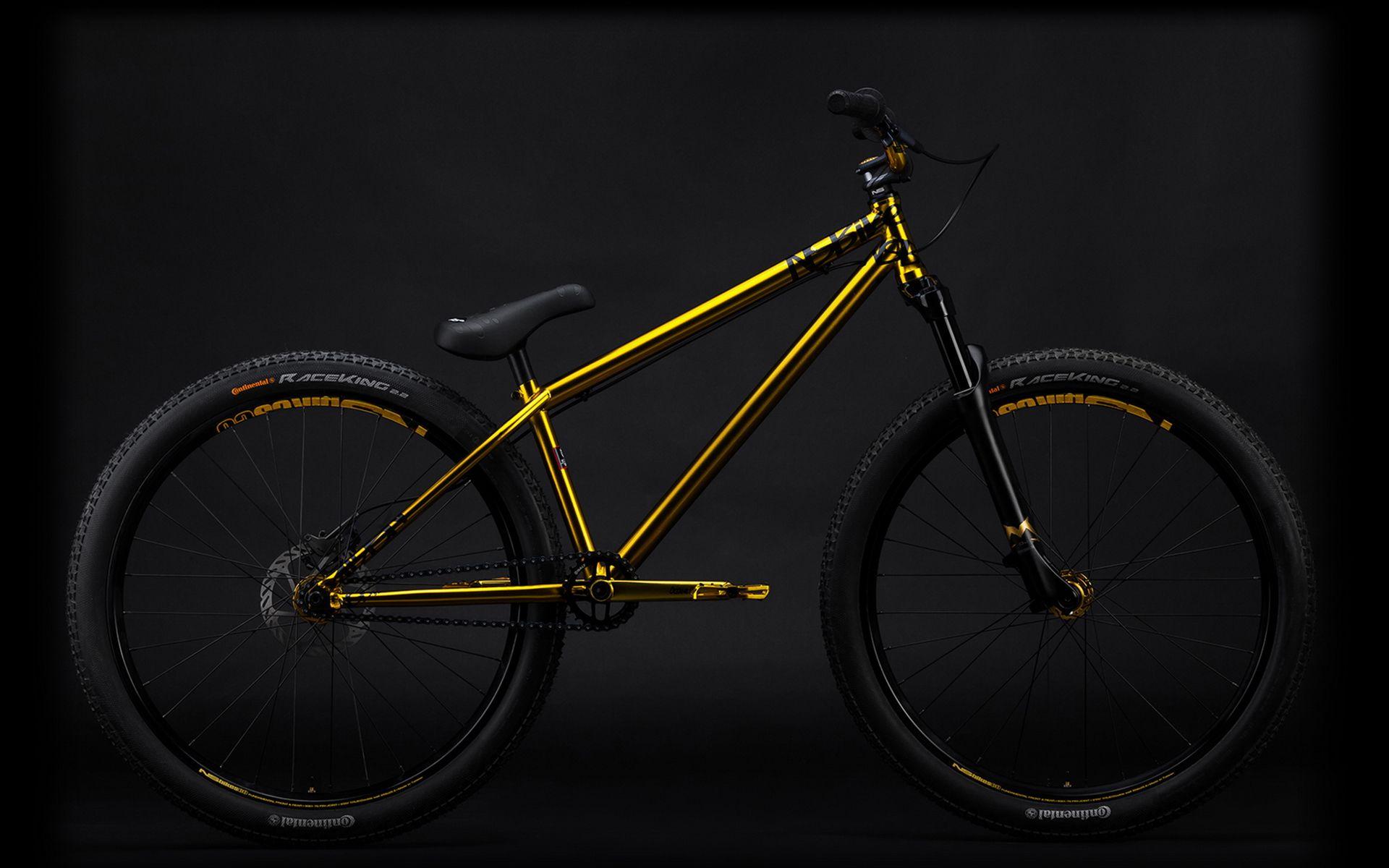 Ns Bikes Majesty Gold Bike Sam Pilgram Montain Bike Bmx Bikes