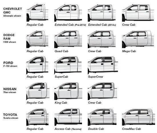Cab Size Jpg 550 467 Pickup Trucks Bed Cab Silverado Crew Cab